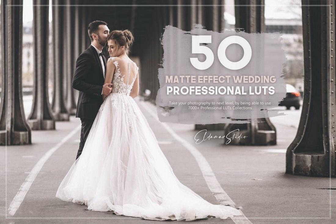 Paket LUT Pernikahan 50 Efek Matte