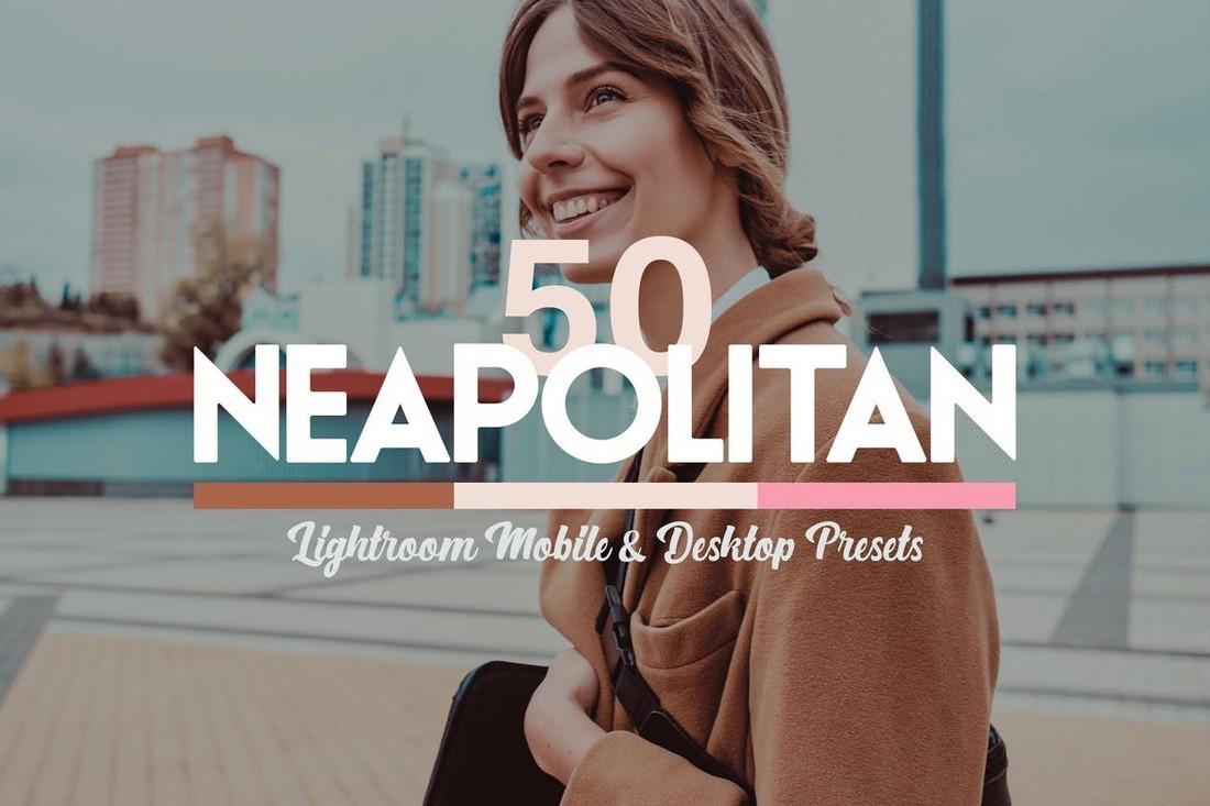 50 LUT & Preset Lightroom Neapolitan