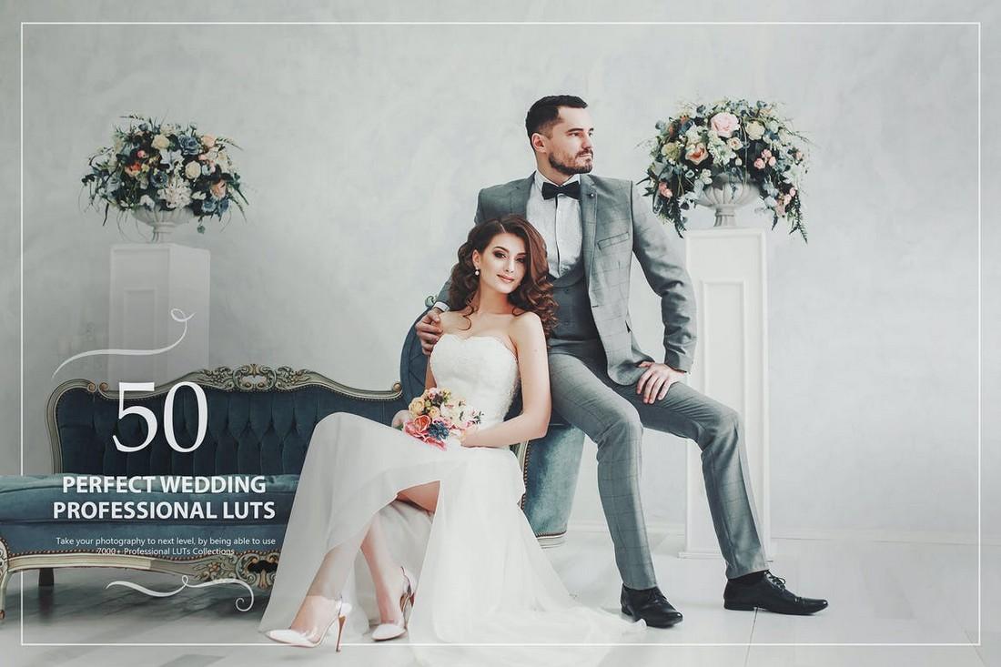 50 LUT Pernikahan Sempurna untuk Photoshop & Lightroom