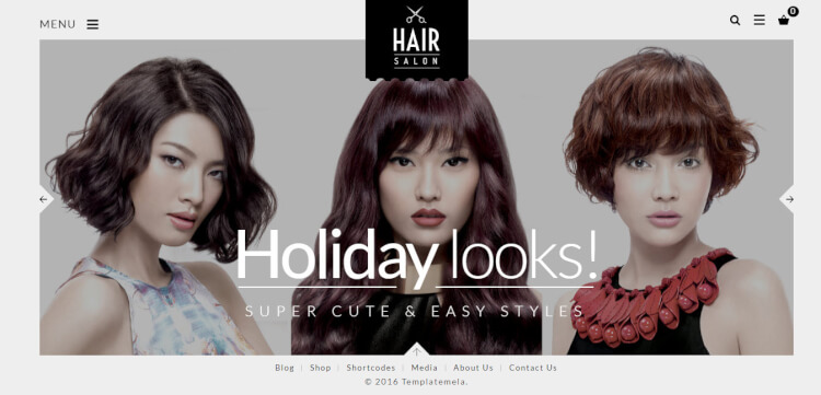 Hair Salon - Barber and Hair Salon WordPress Theme