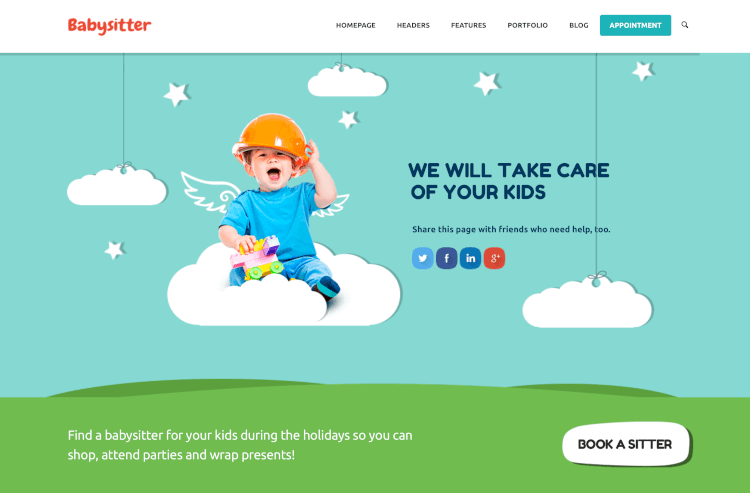 Kids Care - Multi-Purpose Theme for Children