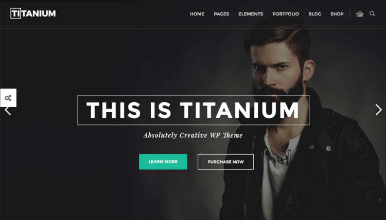 Titanium - Dark Ecommerce WordPress Theme