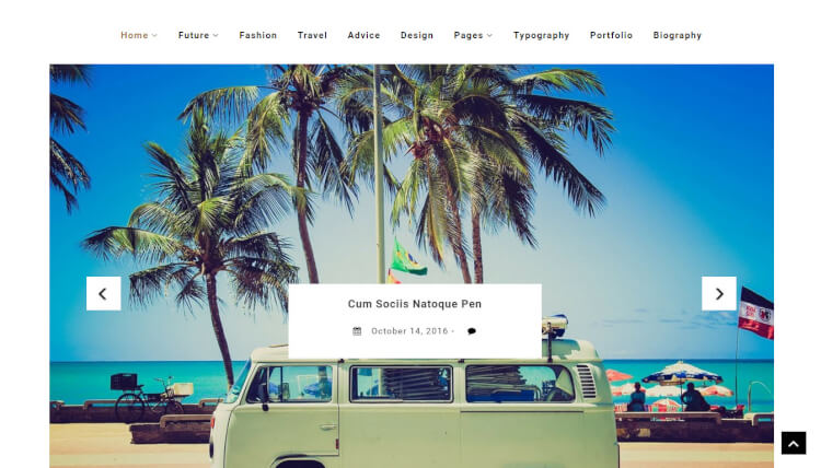 Alfa - Multi-Purpose Slideshow WordPress Theme