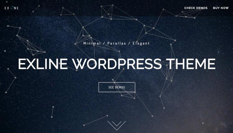 Exline - Multi-Purpose Slideshow WordPress Theme