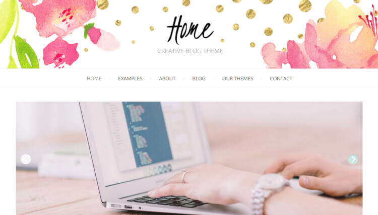 Home - Minimal Creative WordPress Blog Theme
