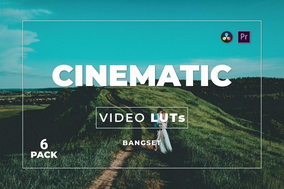 6 Cinematic Premiere Pro LUTUT
