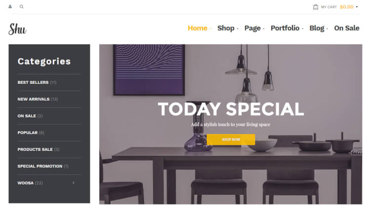 Shu - Multi-Purpose WooCommerce WordPress Theme