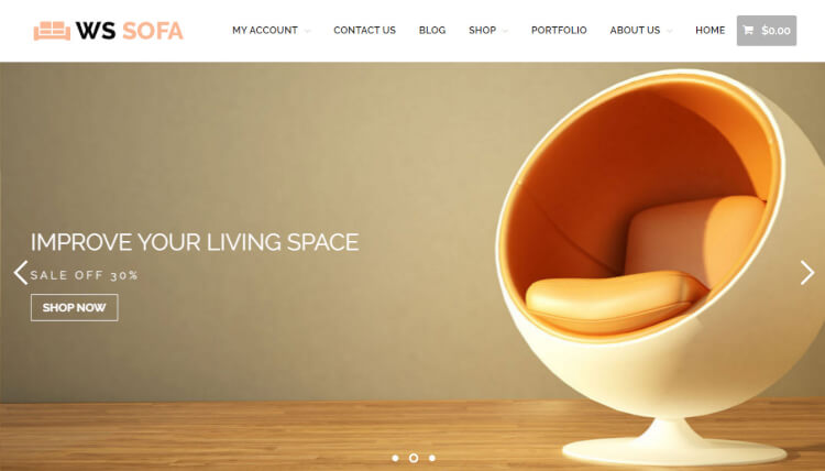 22 best furniture wordpress themes 2018 theme junkie for Mobilia wordpress theme