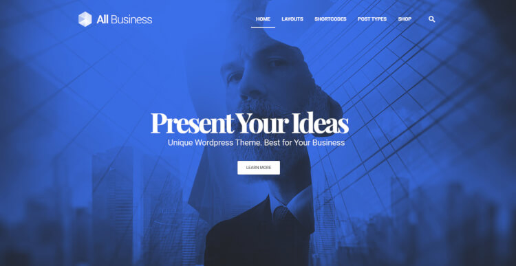 All Business - Corporate & Business Wordpress Theme