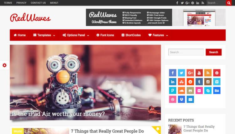 30+ Best Google AdSense WordPress Themes 2018 - Theme Junkie