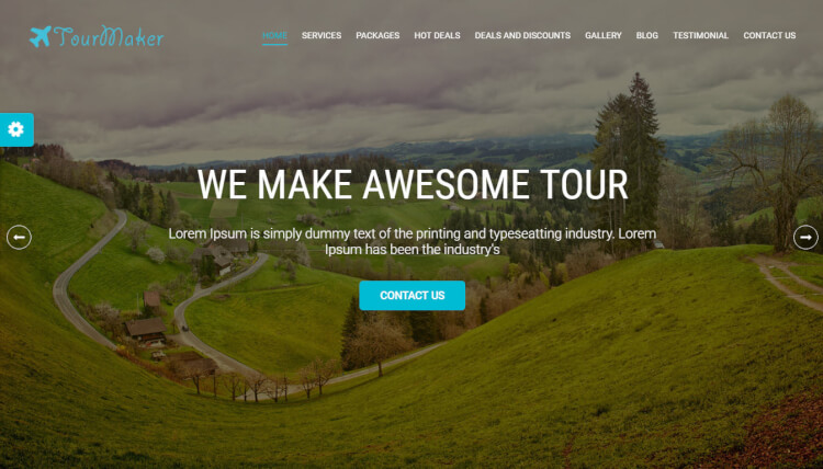 Tour Maker – Travel Agency WordPress Theme