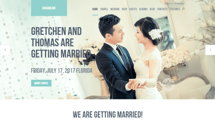 28+ Best Wedding WordPress Themes 2018 - Theme Junkie