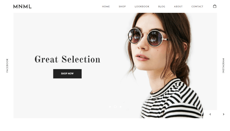Mnml - Minimal WooCommerce WordPress Theme