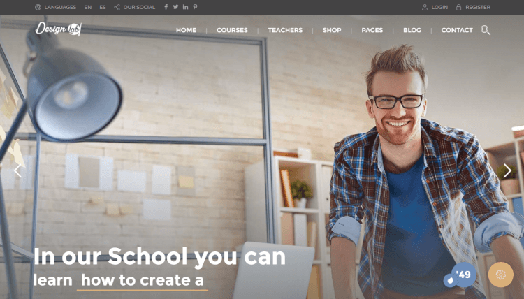 Education Pack - Online Learning WordPress Theme