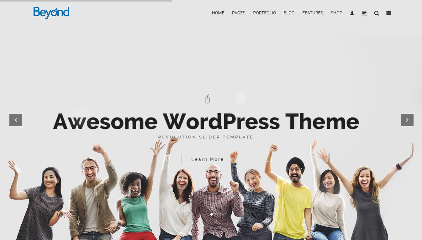 Beyond - All-In-One WordPress Theme
