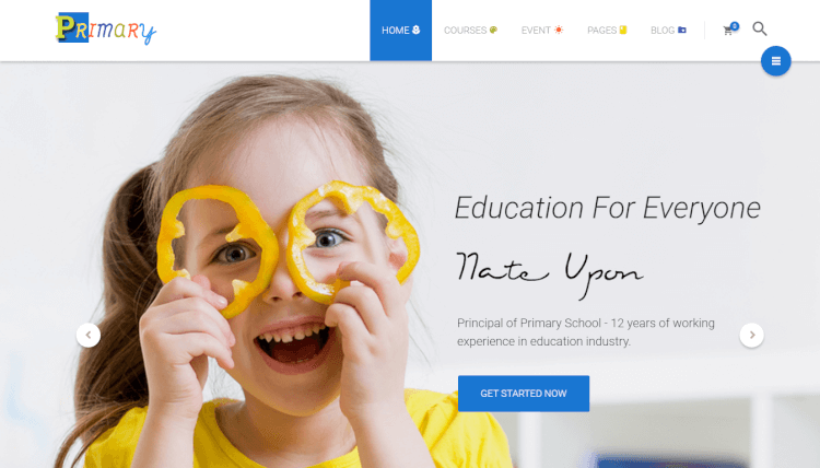 Primary - School and Education WordPress Theme