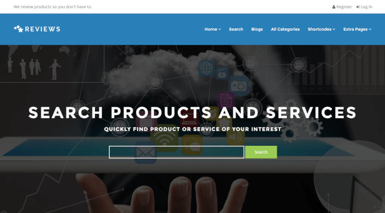 Reviews - Product and Service Review WordPress Theme