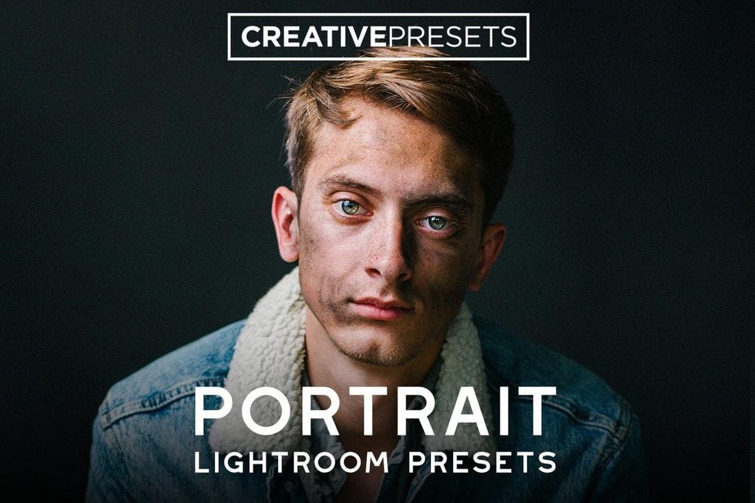 80 Portrait Lightroom Presets Bundle