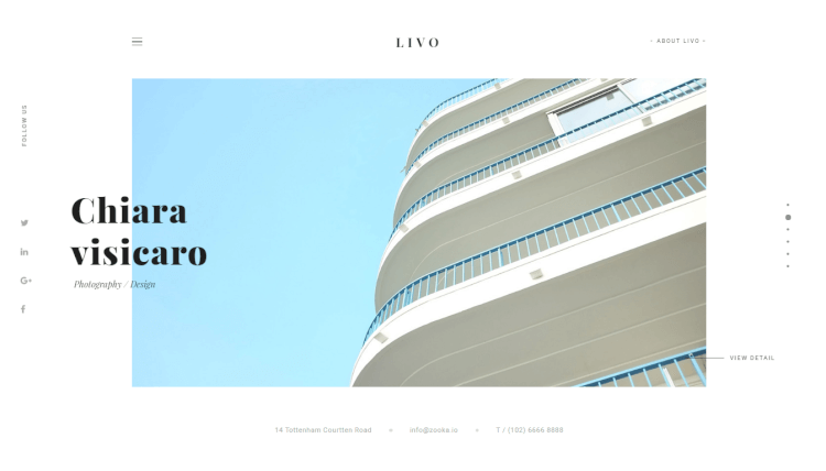 Livo - Modern Creative WordPress Theme