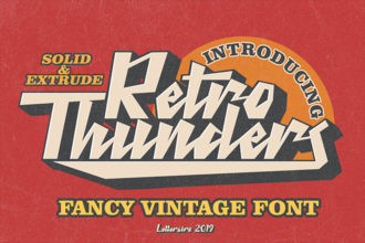 20+ Best 90's and 80's Style Retro Fonts (Free & Pro)