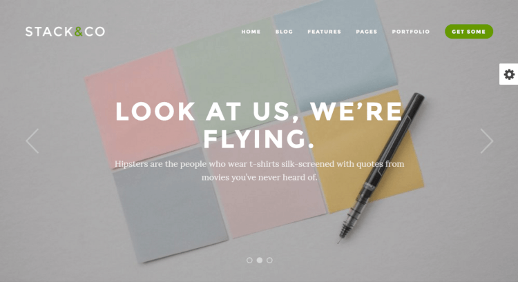 Stack - Flexible Creative WordPress Theme