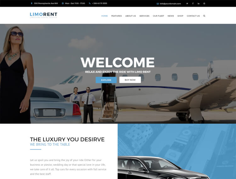 Limo Rent - Limousine and Luxury Car Rental