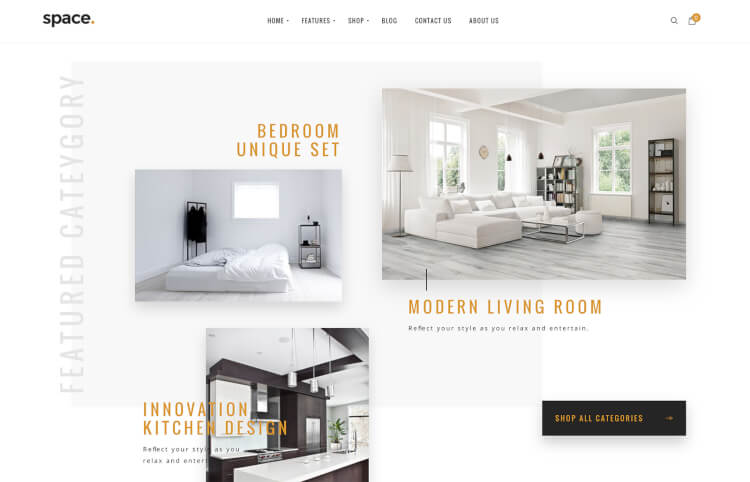 Space - Interior & Furniture Theme