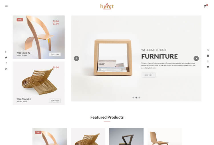 Hurst – WooCommerce Furniture Theme