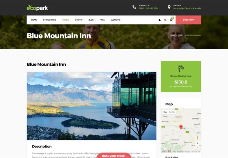 Ecopark - For Tours, Vacations, and Resorts