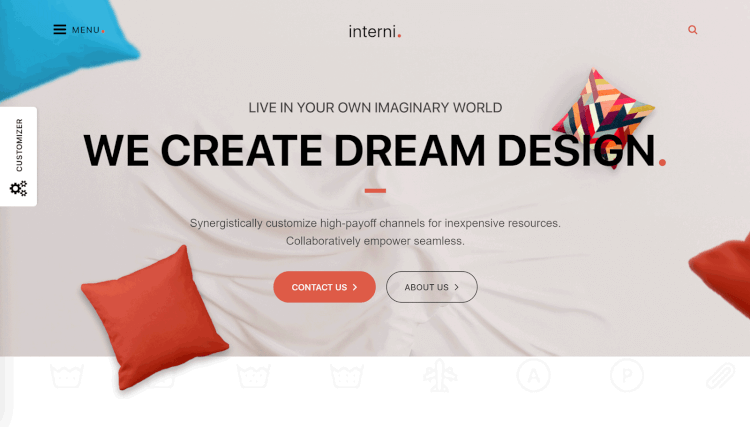 Interni - Interior Design WordPress Theme