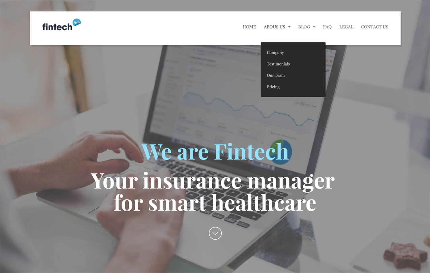 Fintech - Financial Technology WordPress Theme