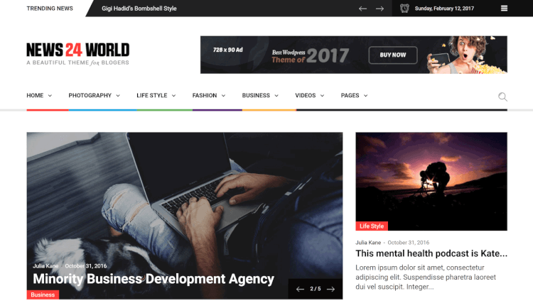 30+ Best Google AdSense WordPress Themes 2018 - Theme Junkie