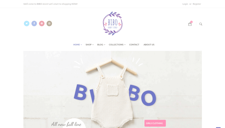 Bibo - WooCommerce Kids and Children WordPress Theme