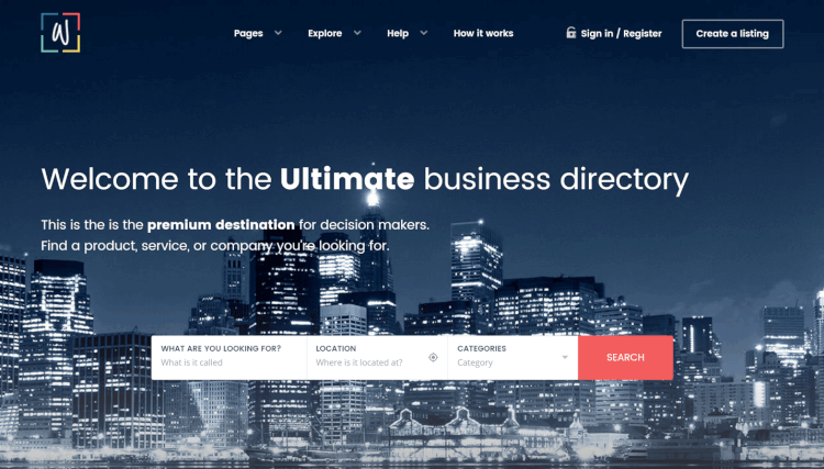 WhiteLab - Directory and Classifieds WordPress Theme