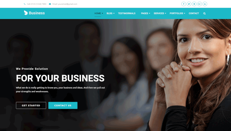 Business - Business Agency and Corporate WordPress Theme