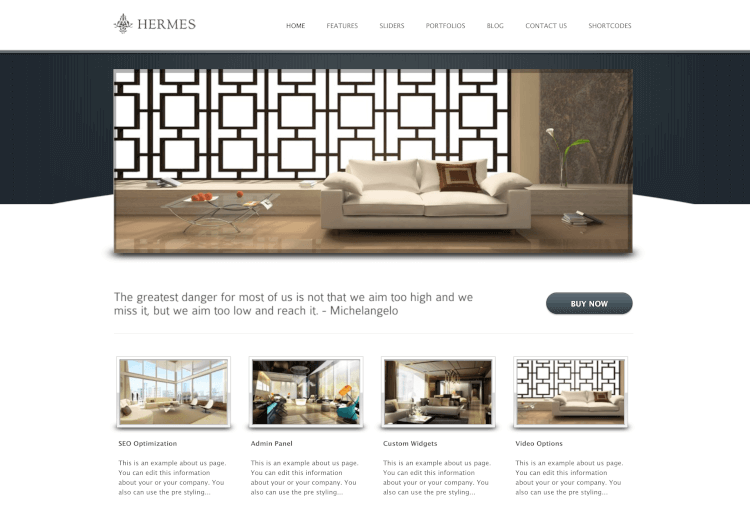 Hermes - Resort and Hotel Theme