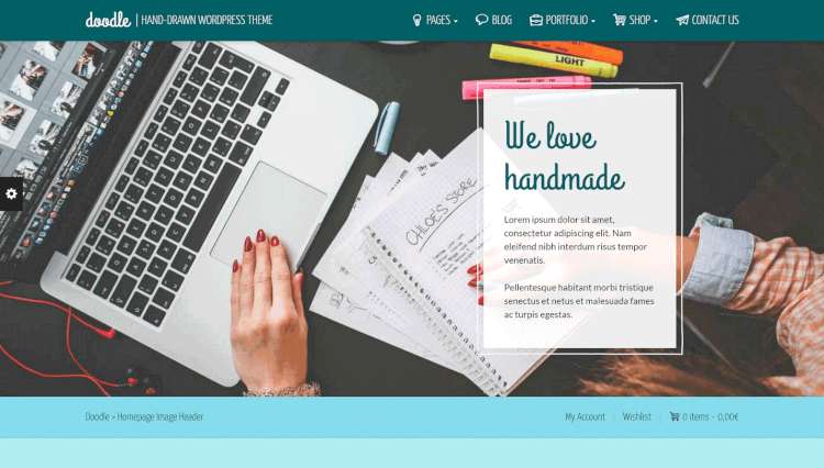 Doodle - Handmade and Artisan Goods WordPress Theme