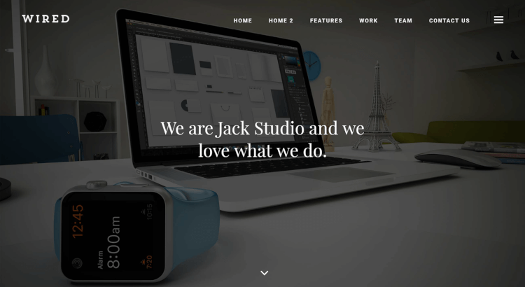 Wired - Multi-Purpose Portfolio WordPress Theme