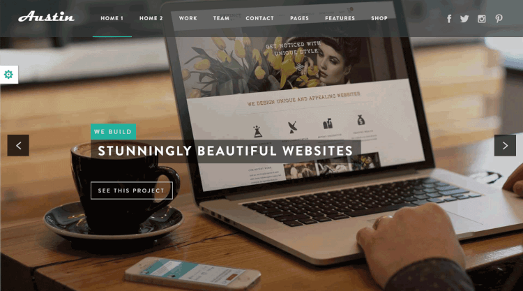 Austin - Multi-Purpose Design Agency WordPress Theme