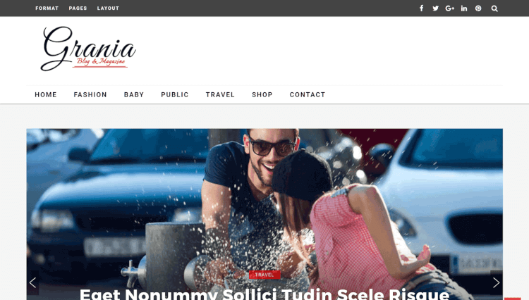 Grania - Multi-Layout Magazine WordPress Theme
