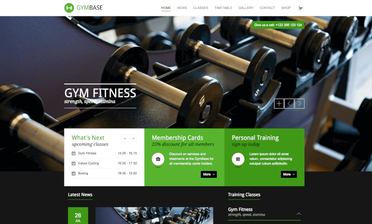 18+ Best Gym WordPress Themes of 2017 - Theme Junkie