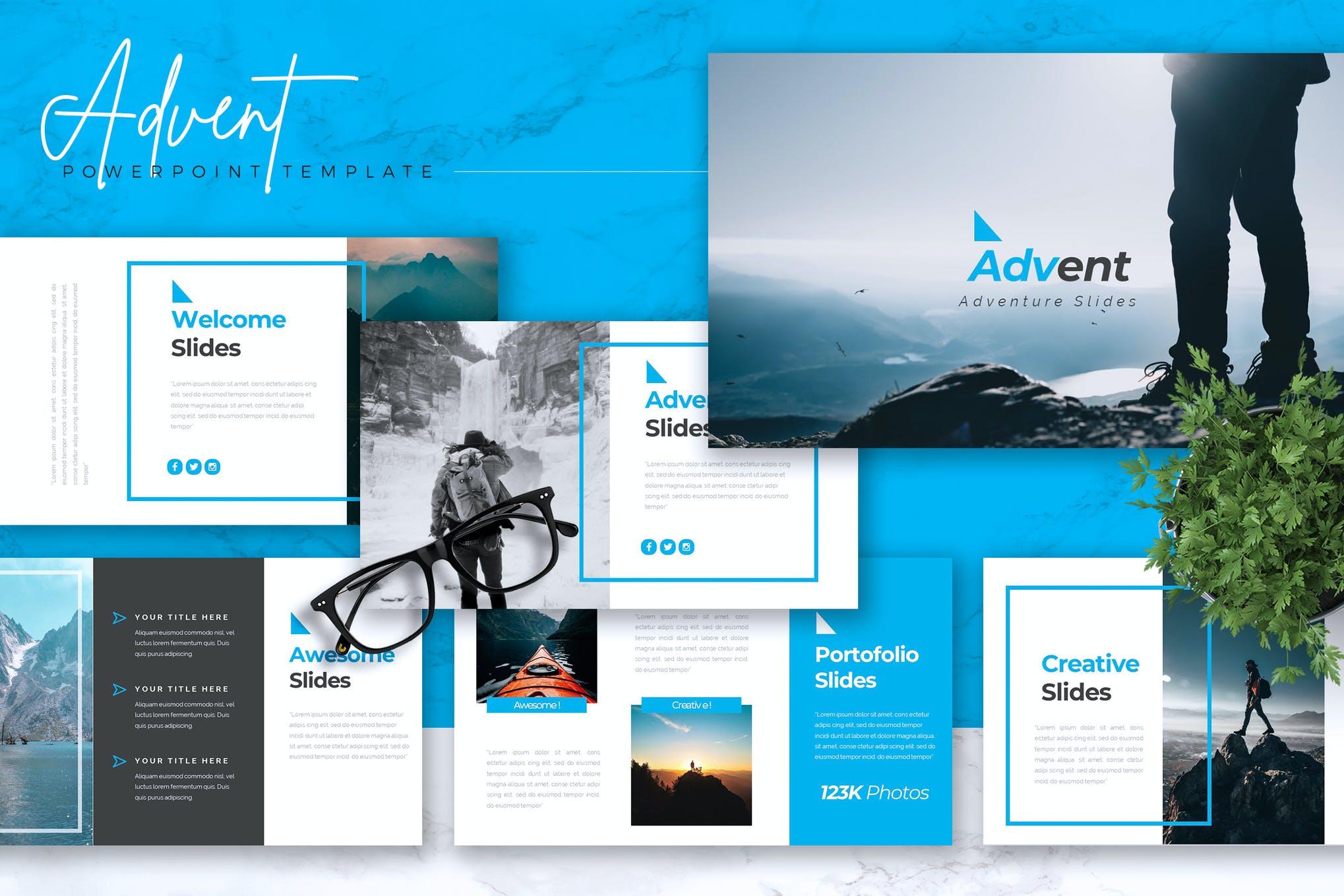 ADVENT - Adventure Powerpoint Template