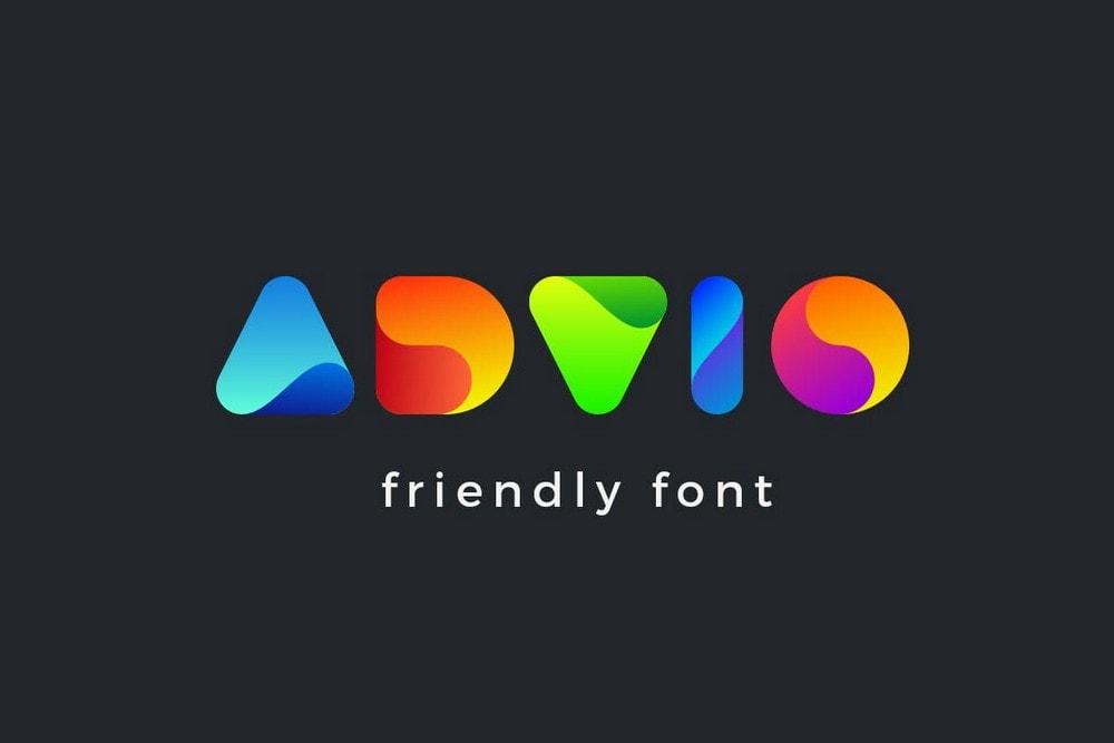 Advio - Unique Logo Font
