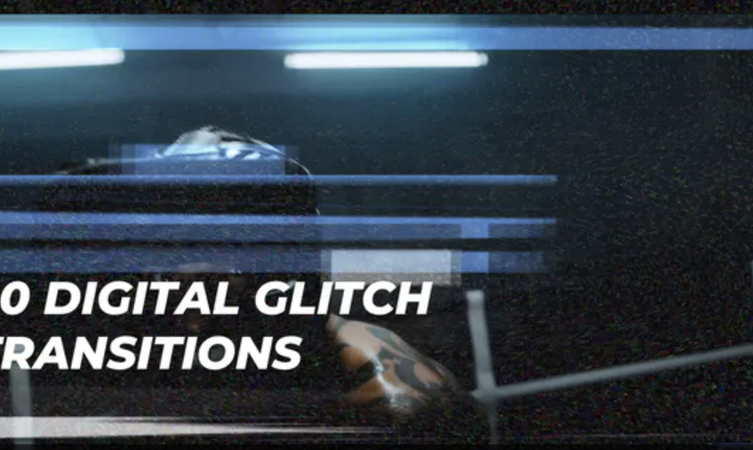 After Effects Glitch Transitions