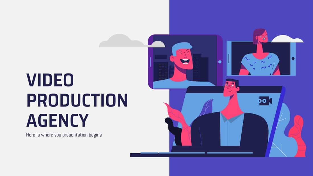 Agency Presentation - Free PowerPoint Template