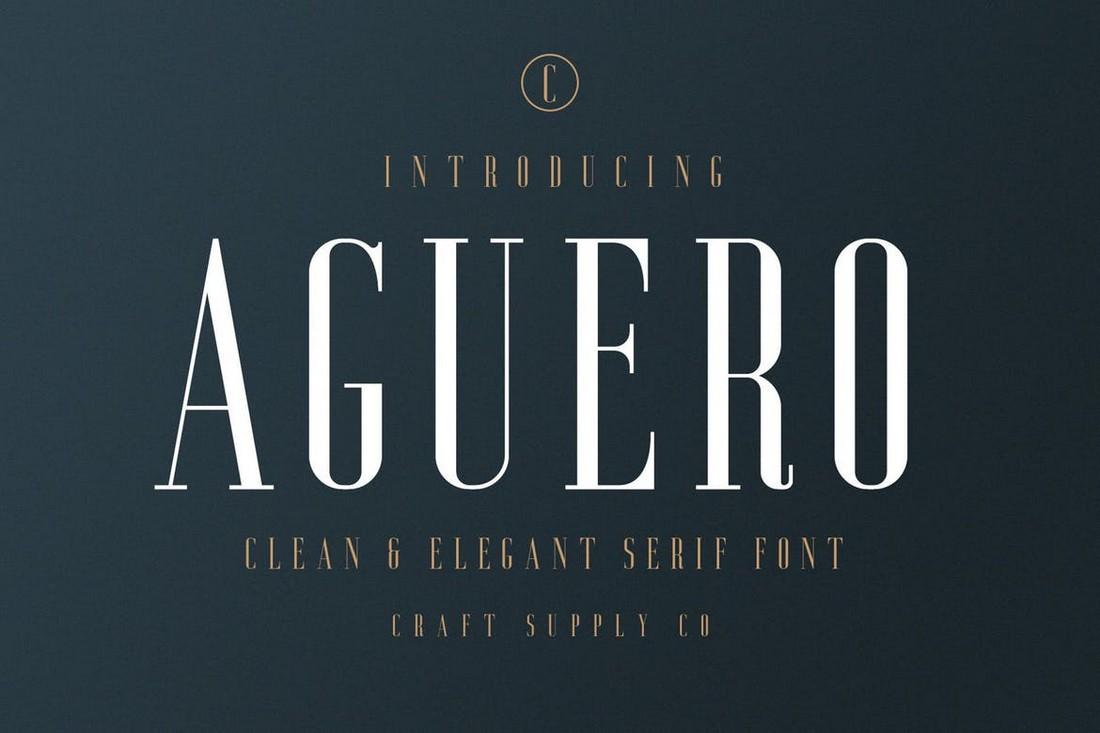 Aguero Serif - Font Elegan untuk Cricut