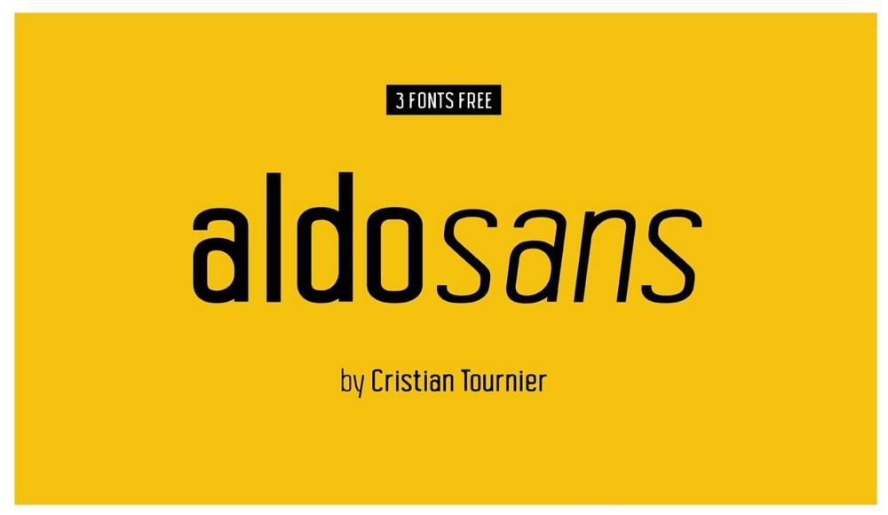 Aldo Sans - Free Sans Font Family