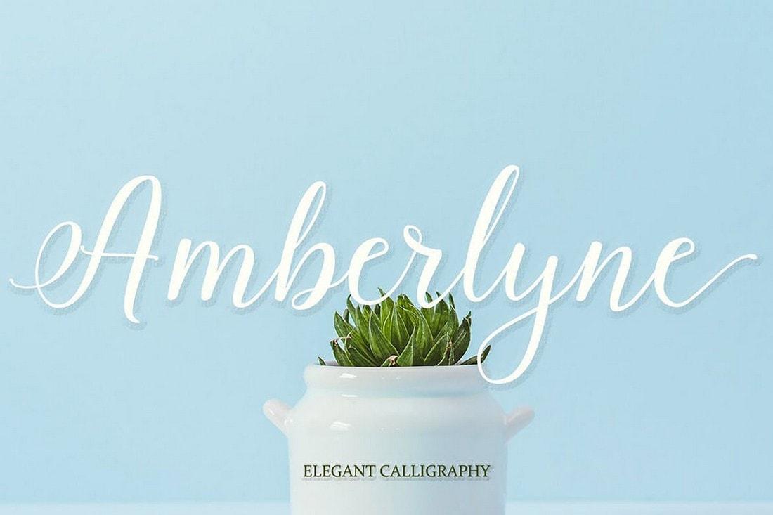 Amberlyne - Elegant Handwritten Font