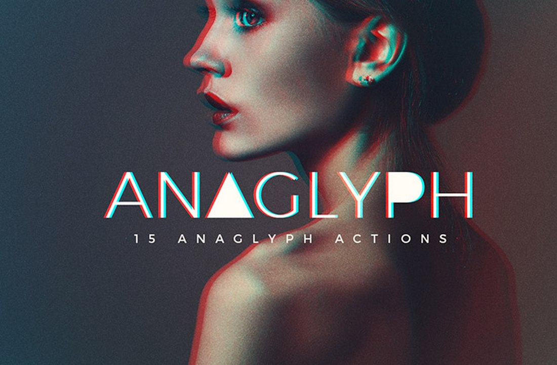 Anaglyph - 15 Free Photoshop Actions