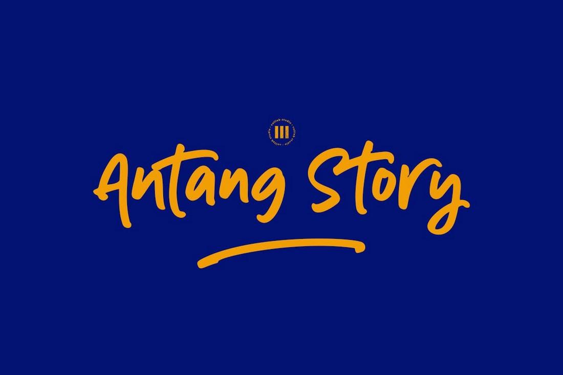 Cerita Antang - Font Cricut yang Bergaya